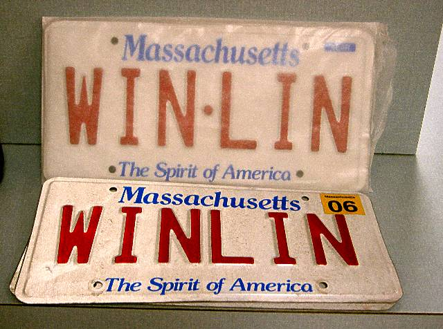 At last, the WIN-LIN plate of our dreams.