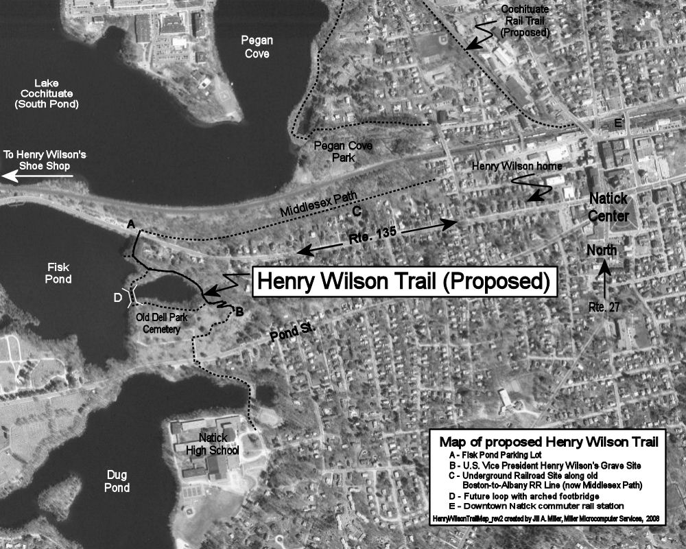 Map of Henry Wilson Trail