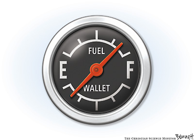 New Gas Gauge