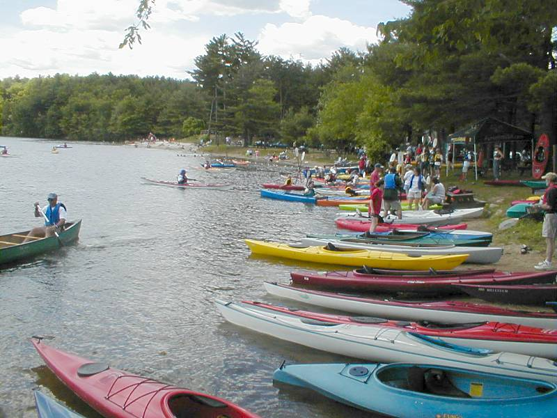 010609CSPKayakRentals PART 3 - Cochituate State Park. Back to some warm-weather fun! Our rail trail connects a LOT, including this popular park on the major recreational lake in eastern Massachusetts Boat rentals, swim area, and much more.