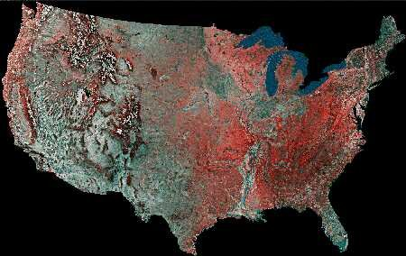 USA from Space